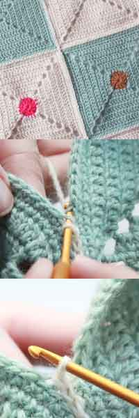 Technique :: Flat Seam Using A Simple Chain Stitch, By