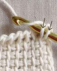 Fantastic Introductory Tutorial On Tunisian Crochet