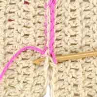 How to Sew a Fine Crochet Seam