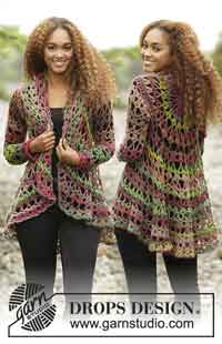 Fall Festival Crochet Jacket