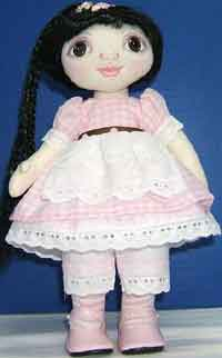 Wide-Eyed Wendy Cloth Doll Pattern