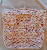 Recycled Clothes Pin Bag