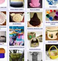 Over 75 Free Crocheted Baskets