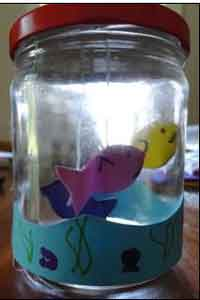 Ocean in a Bottle Craft