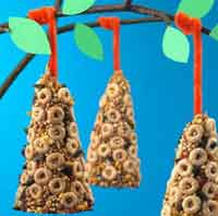 Cheerios Bird Feeder