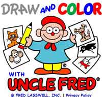 Draw and Color with Uncle Fred
