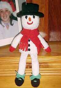 Snowman Shelf Doll
