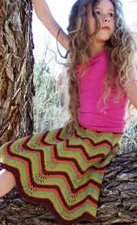 Hip In Hemp Skirt