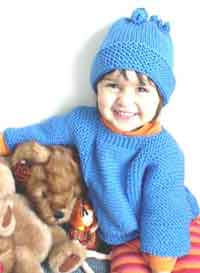 Easy Childs Sweater