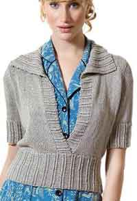 Over 200 Free Knitted Sweaters and Cardigans Knitting Patterns at AllCrafts.net