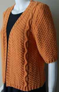 Bunny Hop Cabled Cardigan