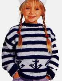 Childs Anchor Pullover2-6yrs