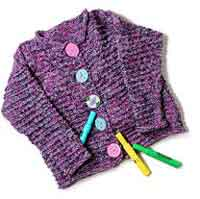childs cardigan