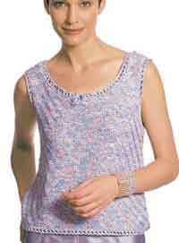 Free Knitting Patterns For Ladies Lace Tops : Over 100 Free Knitted Tops Blouses Tanks Camisoles and More Knitting Patterns...