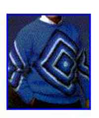 Mens Diamond Sweater