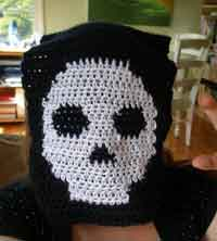 Manly Skull Scarf