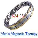 mens magnetic therapy bracelet