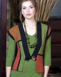 Guilin Kimono Vest