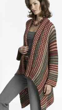 Free Crochet Patterns For Women s Coats : Over 150 Free Plus Size Crocheted Patterns at AllCrafts!