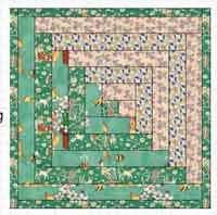 Serger Quilt as You Go Baby Quilt