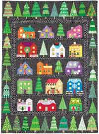 First Snow Christmas Series Quilt