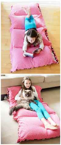 How to Make a Cozy Pillow Bed