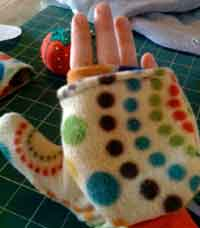 Convertible Mitten Sewing Tutorial