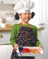 Childs Christmas Apron Hat & Baking Tray pdf