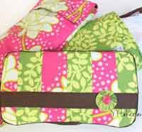 Baby Wipes Case and Diapers Tote