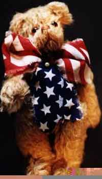 Freemont, the Yankee Doodle Bear