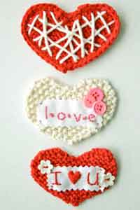 Sweetheart Knit Valentine DIY Tutorial