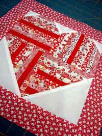 Be Still My Heart Quilt Block Tutorial