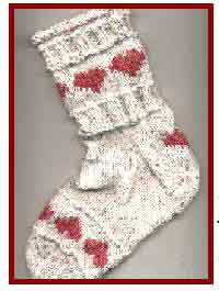 Heart Knitted Socks