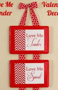 Love Me Tender Valentine Decor