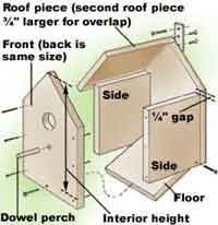 birdhouse plans simple
