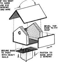 26 Basic Plans Wooden Bird House on bat houses construction plans, wooden cross, woodworking plans, wooden box plans, wooden candle holders plans, country bird houses plans, yellow finch house plans, build bird houses plans, wooden clock plans, purple martin house plans, t-14 martin house plans, hummingbird house building plans, goldfinch house plans, doll house plans, wooden scarecrow plans, audubon bluebird house plans, pvc bluebird house plans, c bird houses plans, wooden book plans, blue jay house plans,
