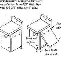 Over 50 Free Bird House And Bird Feeder Woodcraft Plans At Allcrafts Net