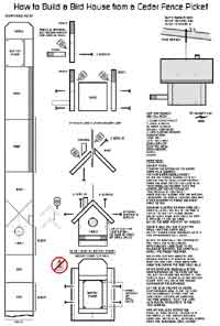 Over 50 Free Bird House and Bird Feeder Woodcraft Plans at ...