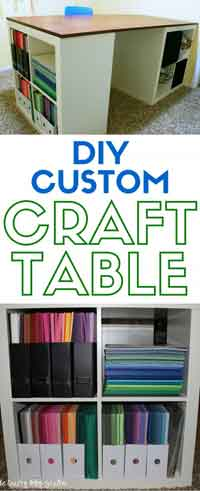 How To Make a Custom Craft Table