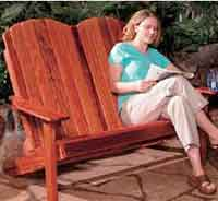 Folding Double Adirondack Chair Plans