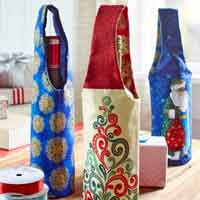 Wine Bottle Carrier Sewing Pattern