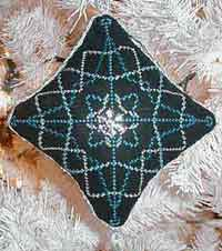 Snowflake Xmas Ornament Cross Stitch