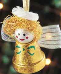 Angel Pot Ornament