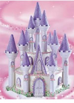 How to make a Princess Castle Cake