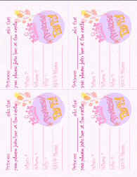 photo regarding Printable Princess Invitations named Princess Occasion Concept Crafts and Suggestions at